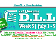 week 5 dll 1st quarter