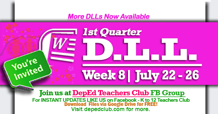 Week 8 daily lesson log