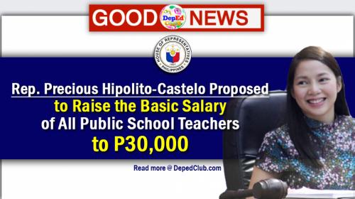 salary increase for teachers