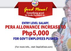 teachers PERA allowance