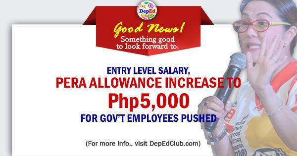 teachers PERA allowance