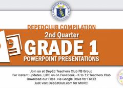 2nd Quarter Grade 1 ppt