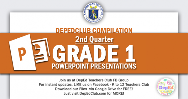 2nd Quarter Grade 1 ppt
