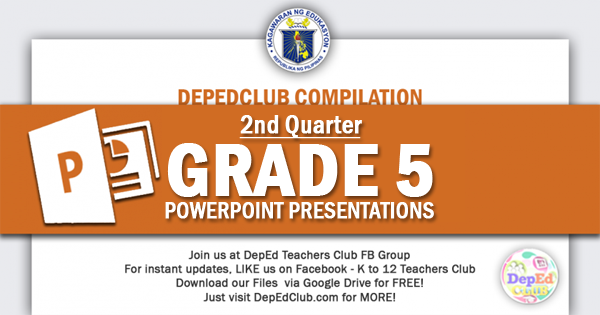 2nd Quarter Grade 5 ppt