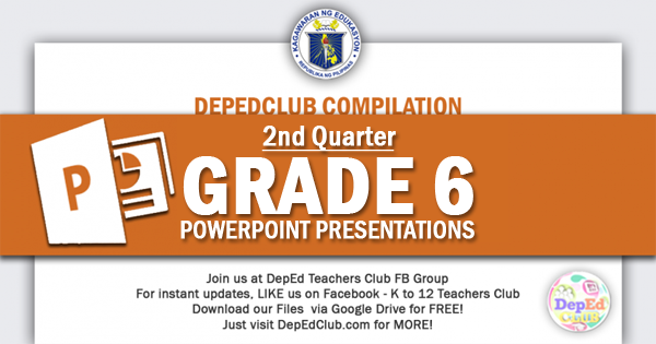 2nd Quarter Grade 6 ppt