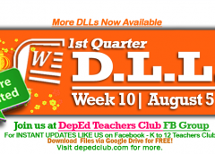 Week 10 daily lesson log