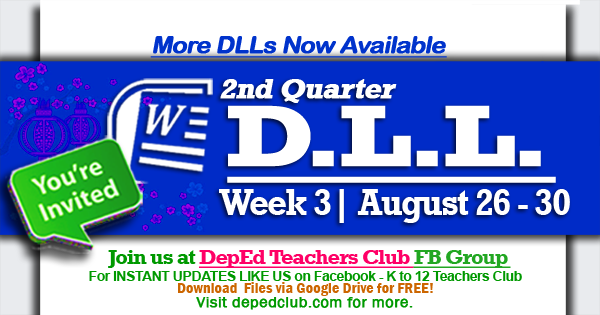 week 3 dll 2nd quarter
