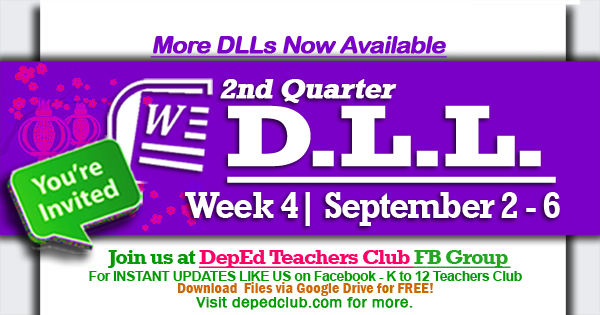 week 4 dll 2nd quarter
