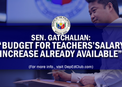 teachers salary increase