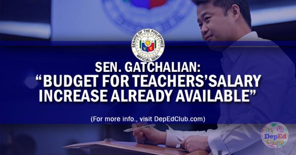 teachers salary increase