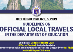 teachers official travels