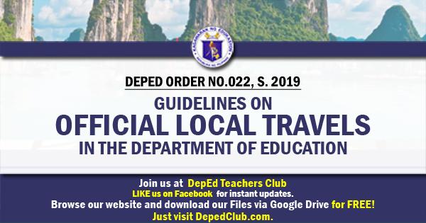teachers official travels