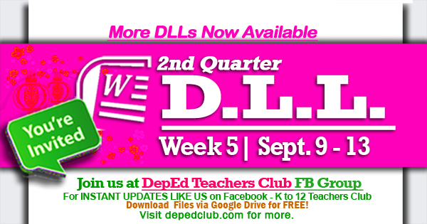 DLL Week 5 2nd Quarter