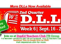 DLL Week 6 2nd Quarter