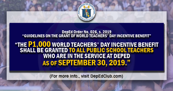 world teachers day benefits