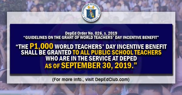 world teachers day benefits
