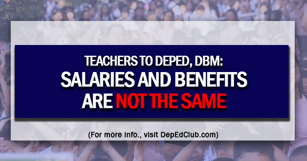teachers salaries and benefits