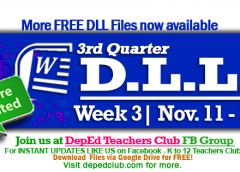 week 3 3rd quarter dll