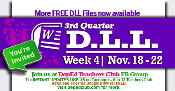 week 4 3rd quarter dll
