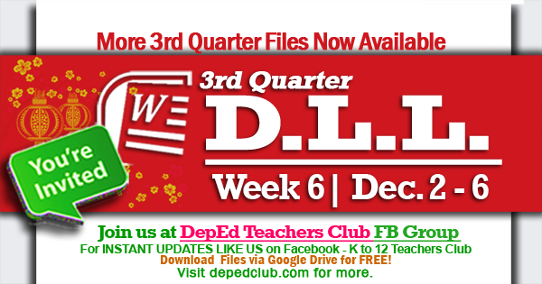 week 6 3rd quarter dll