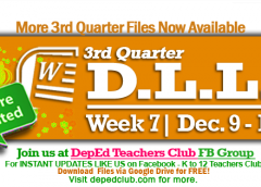 week 7 3rd quarter dll