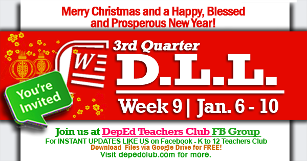 week 9 3rd quarter dll