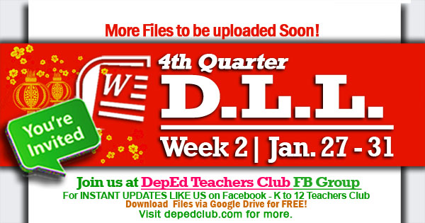 week 2 4th quarter dll