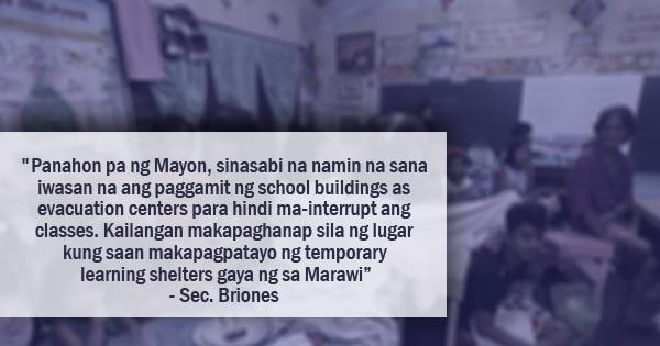 government evacuation centers