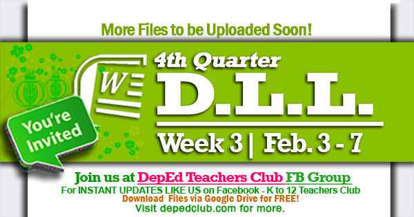 week 3 4th quarter dll