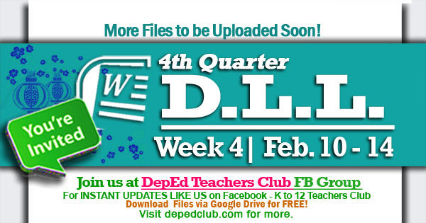 week 4 4th quarter dll