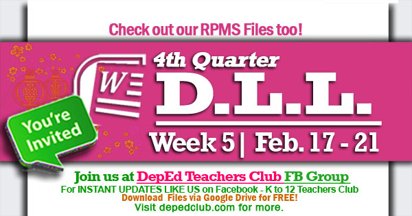 week 5 4th quarter dll