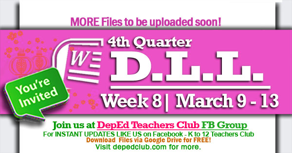 week 8 4th quarter dll